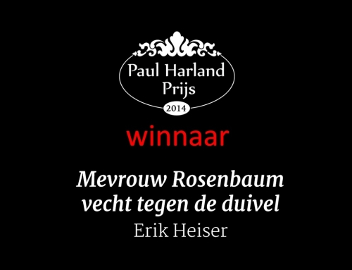 Erik Heiser wint de Paul Harland Prijs 2014