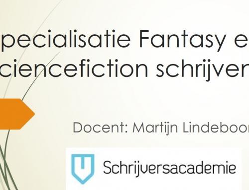 Opleiding Fantasy en sciencefiction schrijven van start