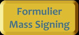Knop Mass Signing aanmelden