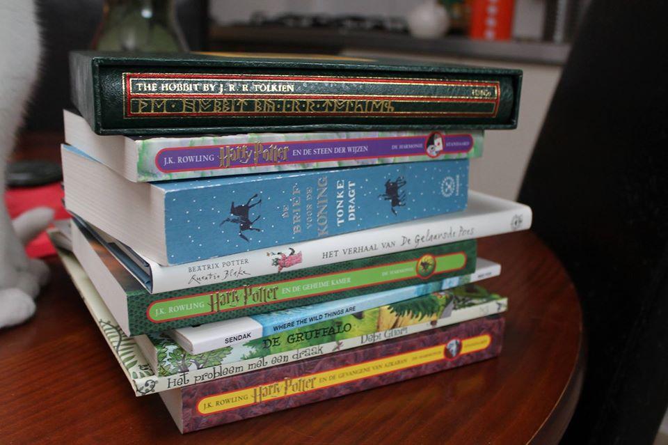 Stapel kinderboeken