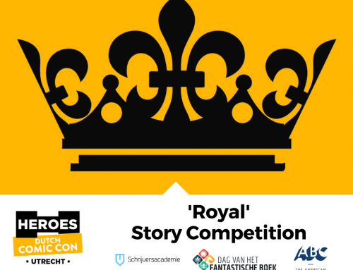 Doe mee aan de Royal Story Competition van Dutch Comic Con 2018